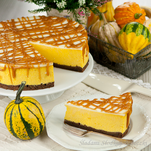 Butterscotch Sauce Pumpkin Cheesecake