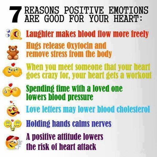 7 Reasons Positive Emotions Are Good for Your Heart