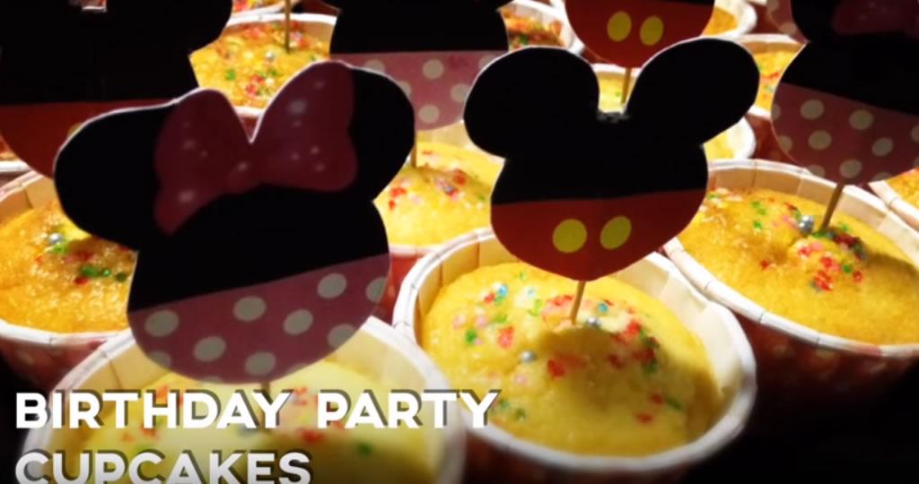 Mickey Mouse Birthday Party Cupcake Recipe