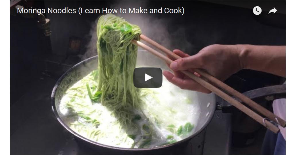 How to Make Moringa Noodles